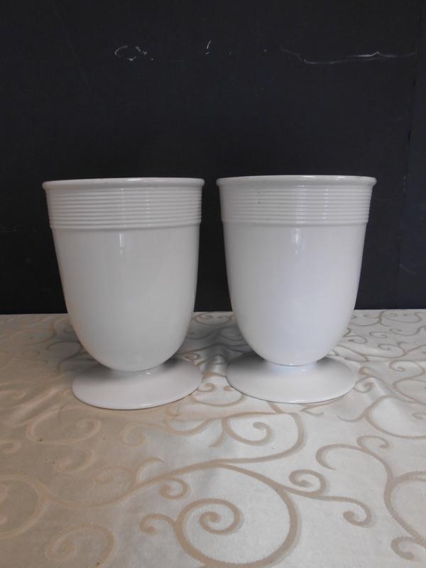 White ceramic Barbara Berry vase