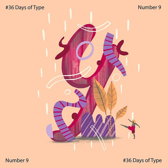 9 of 9 ✅ thanks everyone for support!  #36days_9 #36daysoftype #36daysoftype06 #36days_adobe #contest @36daysoftype @adobe  #illustrator #vectorart #digitalart #artistsoninstagram#instaart #instaartist #illustratorsoninstagram #wip #illustrationoftheday #creatives #doodles  #art #procreate