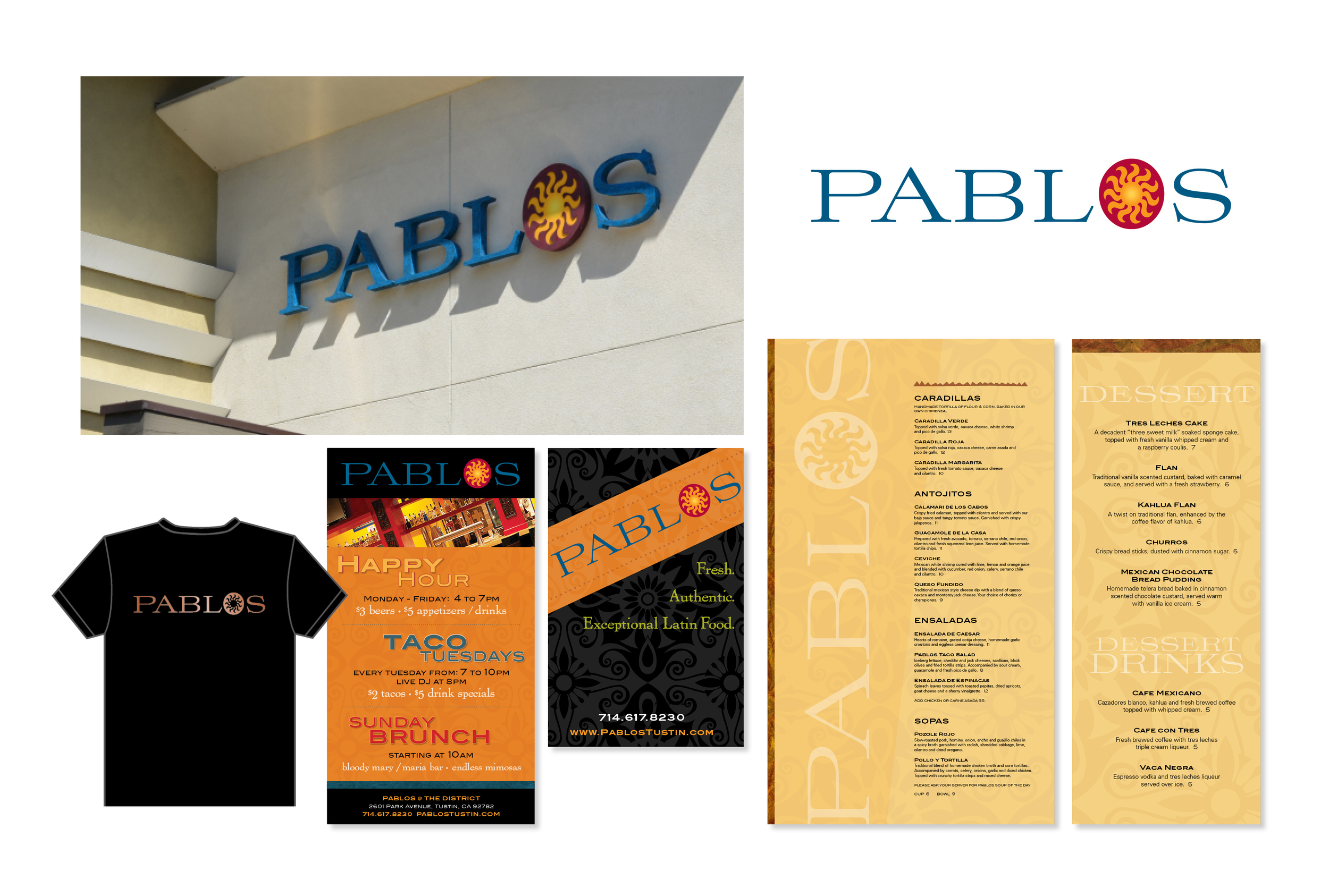 Client: Pablos Restaurant