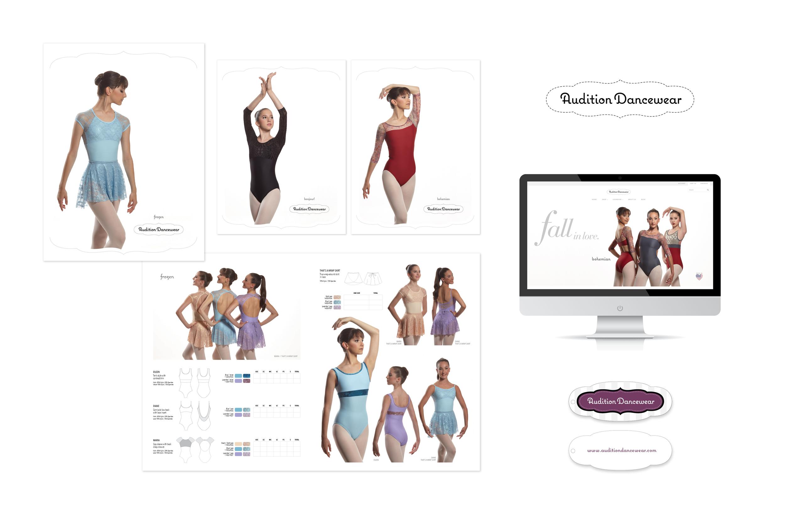 Client: Audition Dancewear