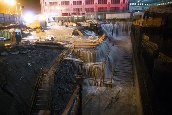 Ground Zero Flooded