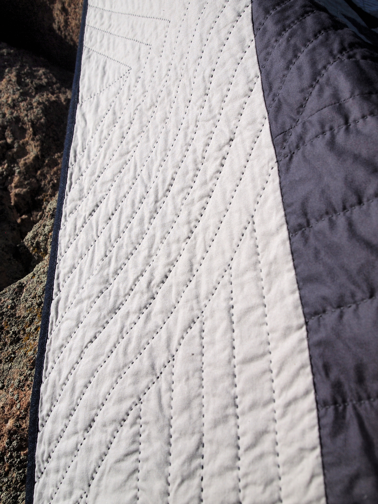 Quilt no. 0011: Front Stitching