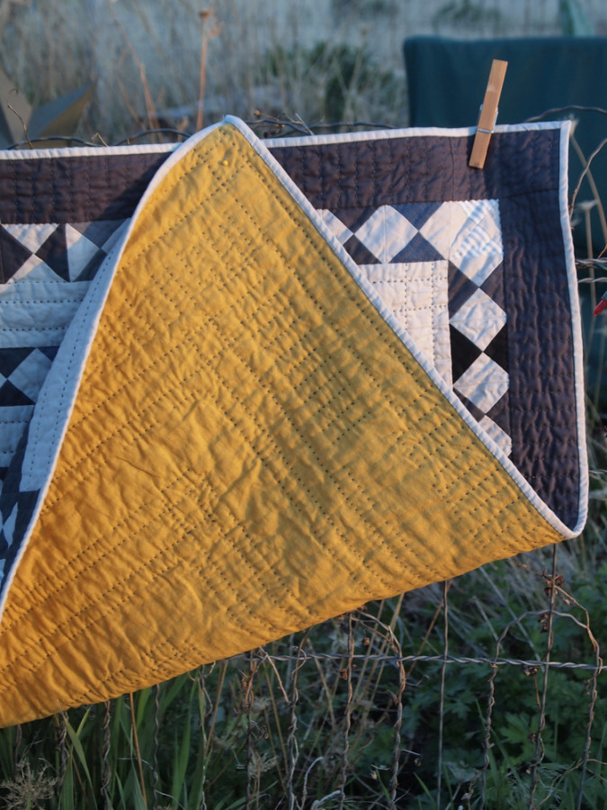 Quilt no. 012: Back