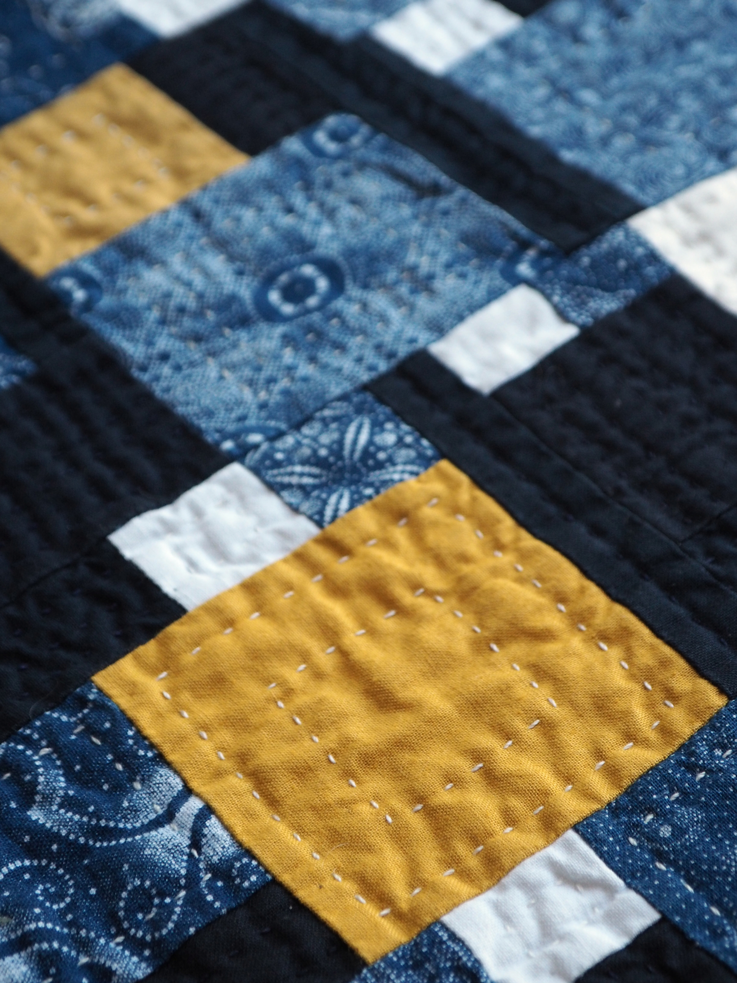 Quilt no. 017: Redux Yellow Square