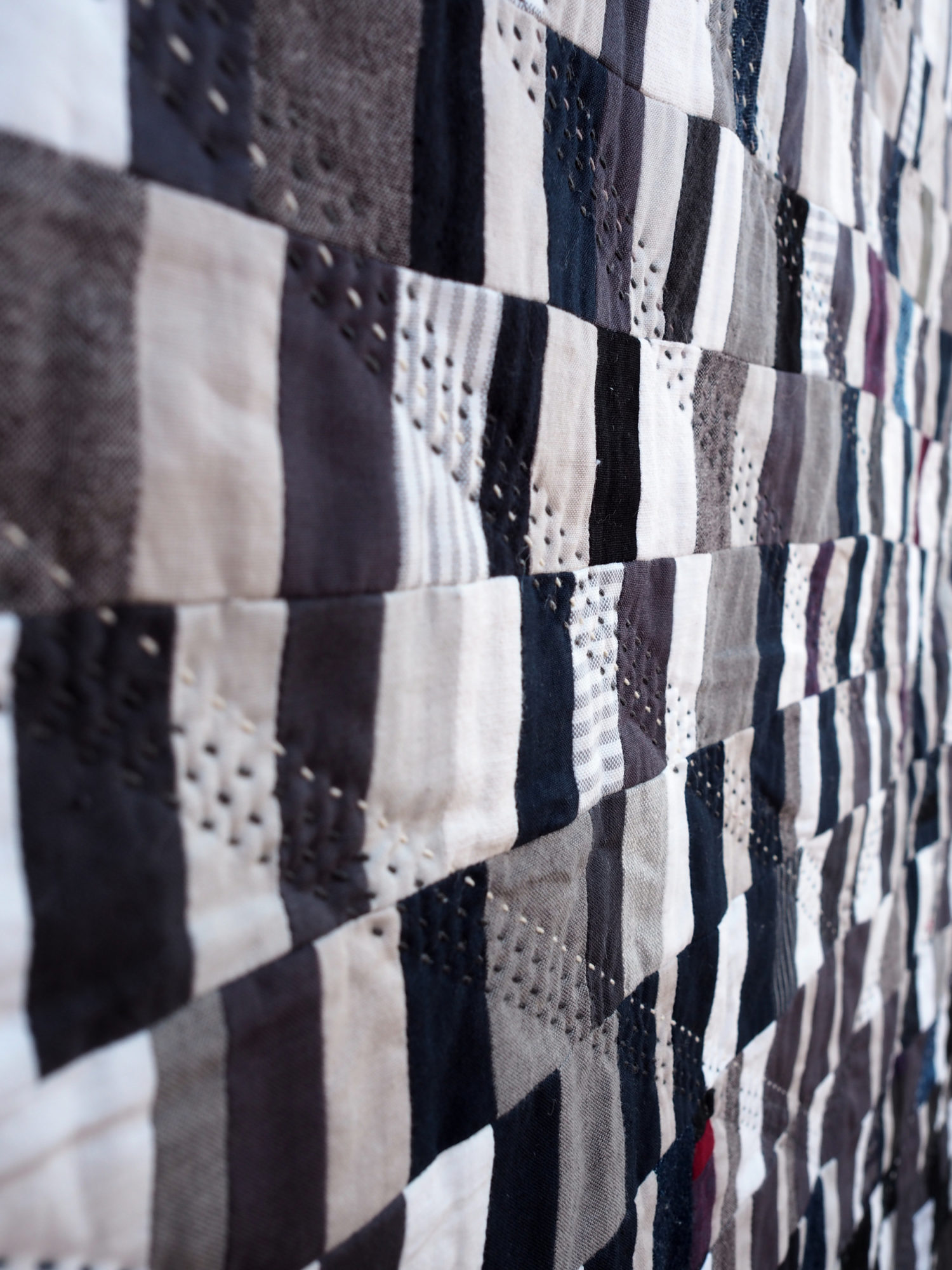 Quilt no. 020 by Shelby Marie Skumanich: Medium Shade Close Up