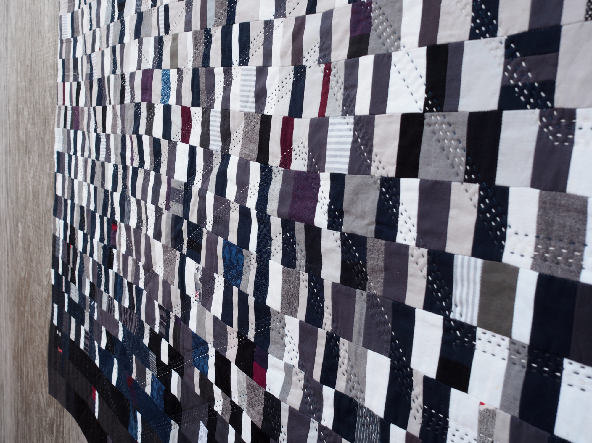 Quilt no 020 by Shelby Marie Skumanich: Askew View
