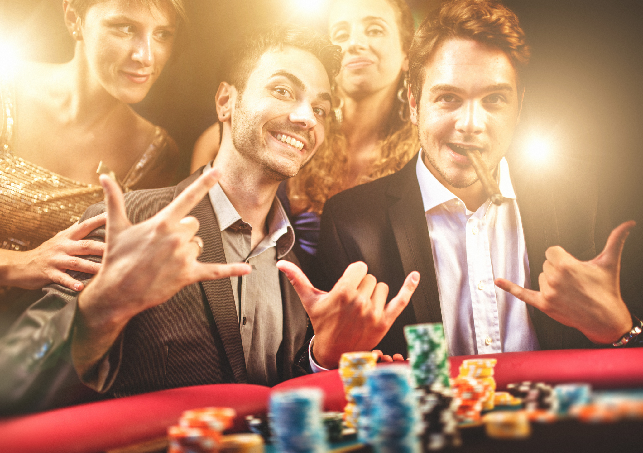 Poker is a traditional casino game that's loved by young and old alike.