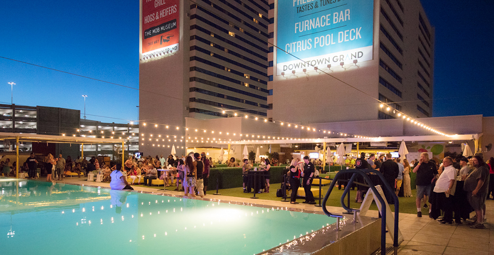 On July 8th, join us in Las Vegas at the Downtown Grand Citrus Pool Deck for our evening launch party!