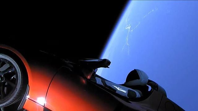 The most badass thing we've seen in a long time. #hatsoff #wow #spacex #space #spaceman