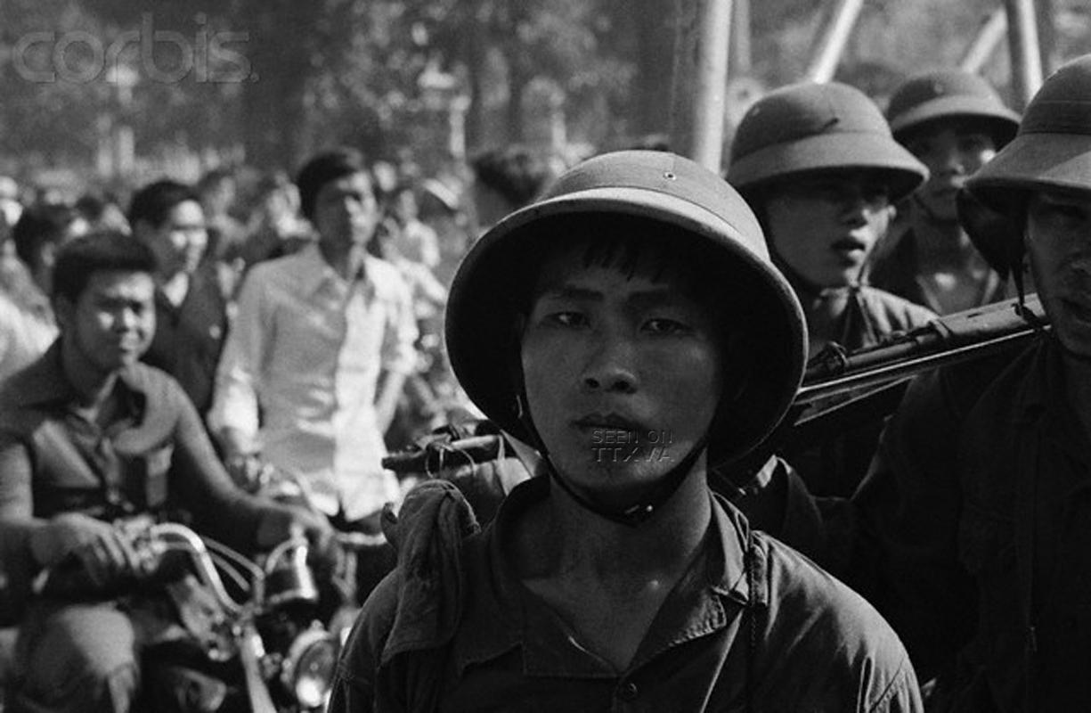 Bộđội cộng sản Bắc Việt trong ngày 30 tháng 4 năm 1975 - nguồn internet.