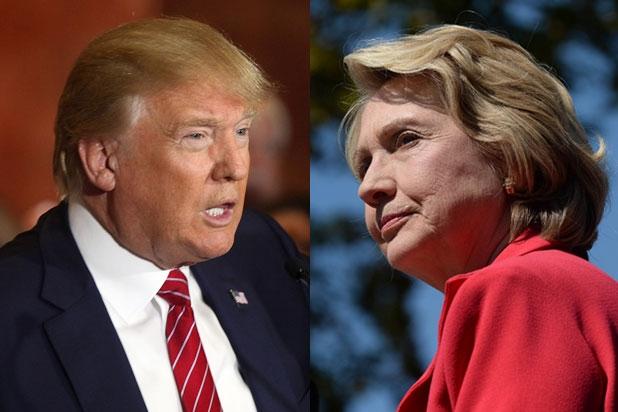 Tranh luận sơ bộ giữa Trump và Clinton. Nguồn internet.