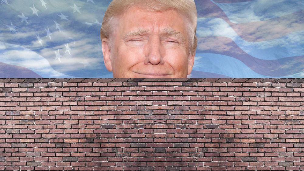 President Trump chỉ thị cho xây bức tường biên giới với Mễ Tây Cơ và Mễ Tây Cơ phải trả cho phí tổn này. Nguồn internet.