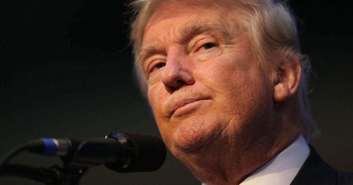 Trump đối nghịch với truyền thông. Nguồn internet.