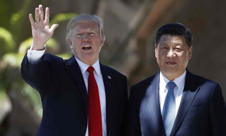 Donald Trump và Tập Cận Bình (nguồn the Guardian)