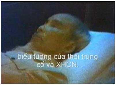 Xác ướp của Chúa Khỉ: Hồ Khỉ Tặc tại Quãng Trường Ba Đình, Hà Nội . ( nguồn Internet )
