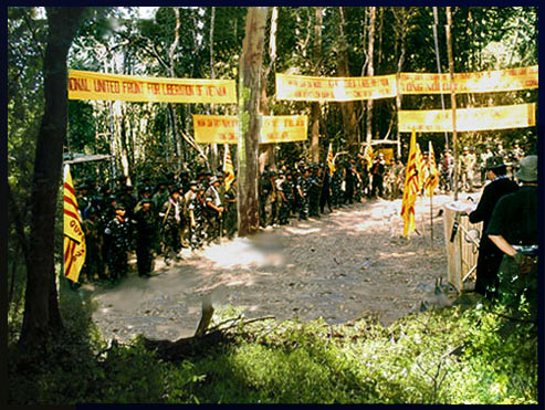 8 tháng 3 - Ngày Dựng Cờ Chính Nghĩa - Mặt Trận QG Thống Nhất Giải Phóng Việt Nam.