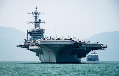 tàu sân bay Mỹ USS Carl Vinson