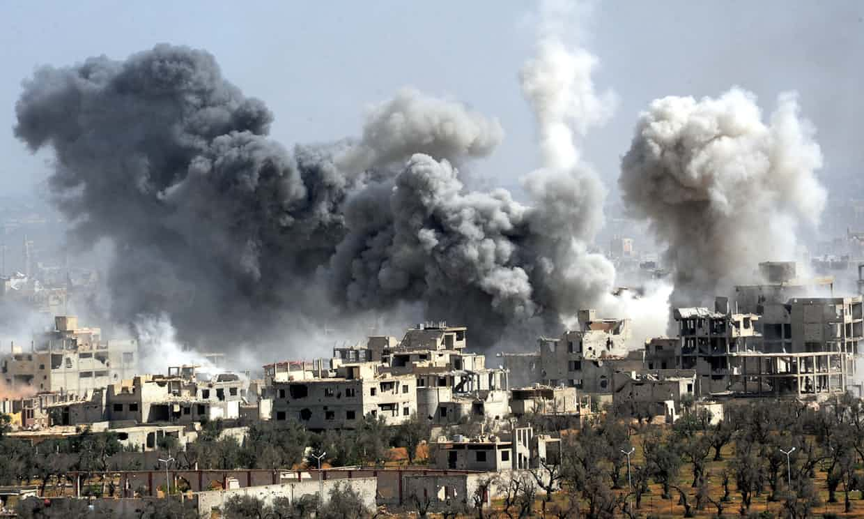 chiến tranh tại Syria. Nguồn internet.