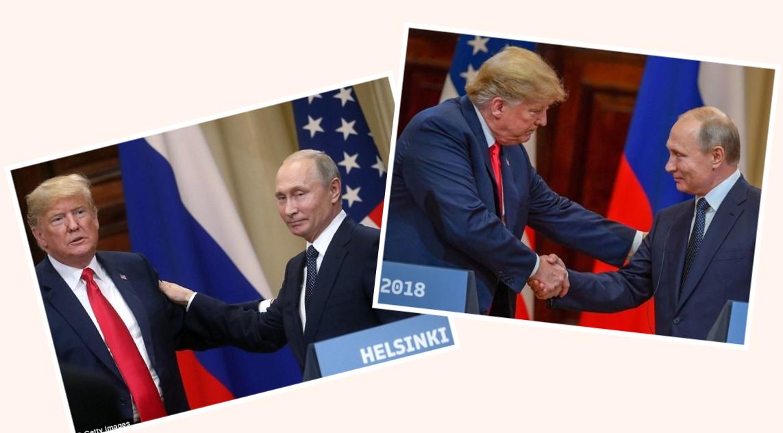 Trump và Putin trong hội nghị thượng đỉnh tại Helsinki tháng 7 2018. Nguồn internet.