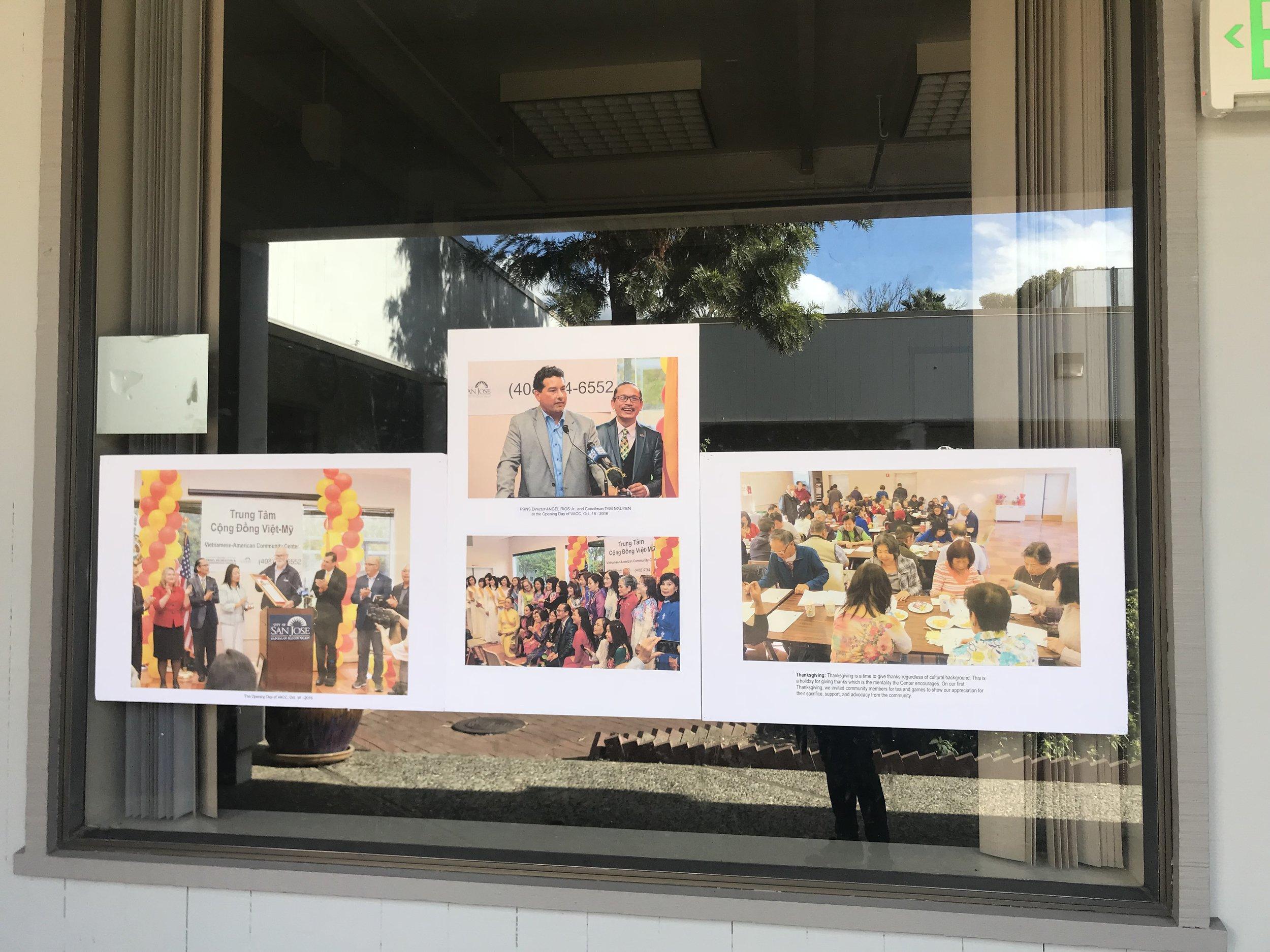 Hình ảnh các sinh hoạt tại Trung Tâm Văn Hóa Việt Mỹ.
