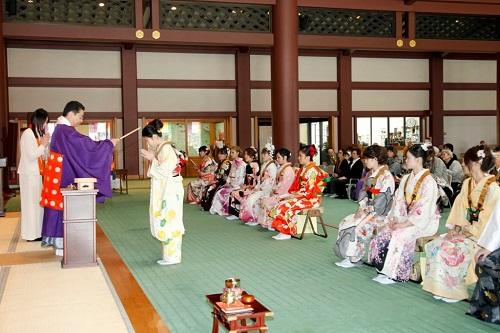 Ngày lễ thành nhân tại Nhật Bản. Nguồn internet.