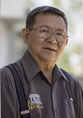 Cựu đại tá Vũ Văn Lộc, và cũng là nhà văn Giao Chỉ. Nguồn internet.