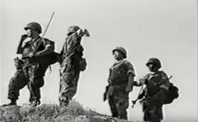 Những người chiến sĩ Việt Nam Cộng Hòa. Nguồn internet.