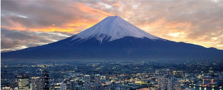 Núi Phú Sĩ Fuji. Nguồn internet.