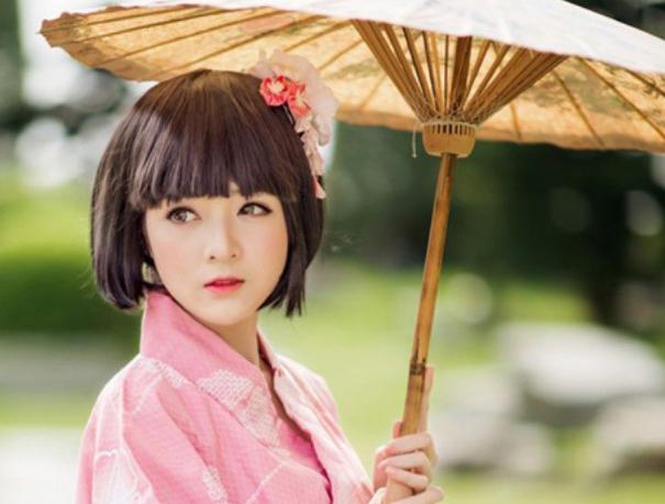 Cô gái Nhật Bản. Nguồn internet.