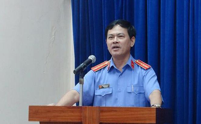 Cựu Phó viện trưởng viện kiểm sát nhân dân thành phố Đà Nẵng Nguyễn Hữu Linh.