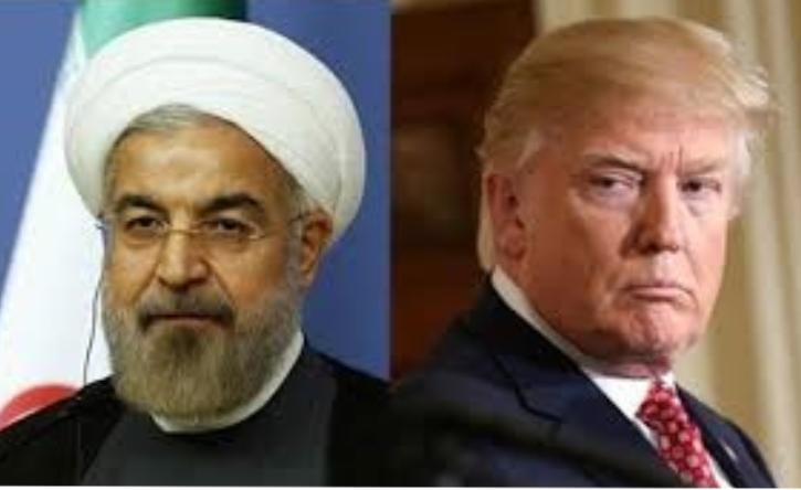 TT Trump - TT Iran Hassan Rouhani. Nguồn internet.