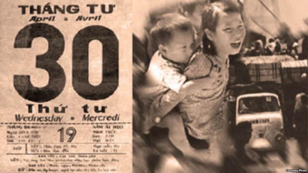 Quốc Hận 30 tháng 4 1975. Nguồn internet.