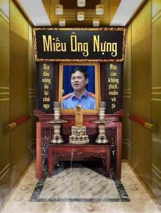Linh đã được lập bàn thờ. Nếu vào tù, Linh sẽ có cơ hội hát mừng sinh nhật bác của hắn thoải mái.