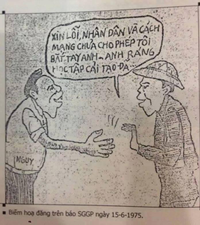 biếm họa trên báo saigon giải phóng ngày 15 tháng 6 1975-1.jpg