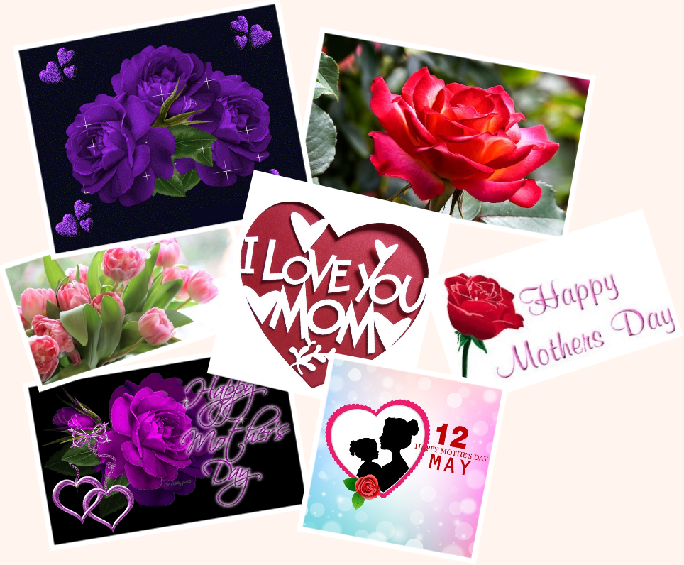 Ngày Của Mẹ. Happy Mother's Day. Nguồn internet.