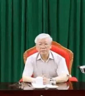 Nguyễn Phú Trọng (ngày 14 thạng/2019).. Nguồn Internet
