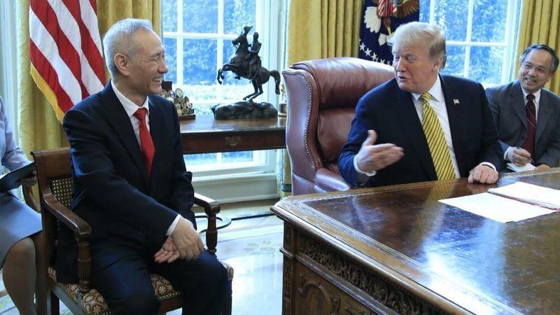 Donald Trump và Liu He thảo luận về giao thương