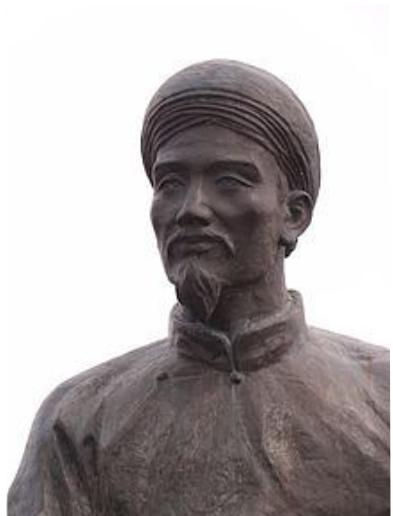 Đại thi hào Nguyễn Du. Nguồn internet.