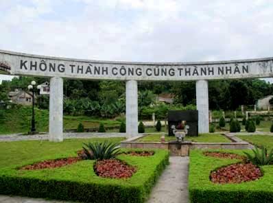 Di tích mộ Nguyễn Thái Học. Nguồn internet.