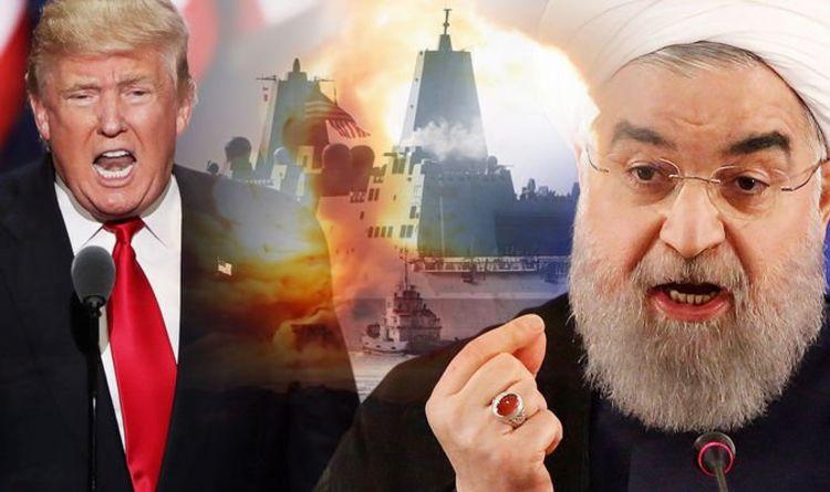Lò lửa Trung Đông. Iran đối đầu Hoa kỳ. Nguồn internet.