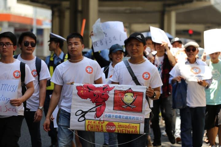 BT phản đối TQ xâm lấn hải phận VN-Tokyo-080319-27.jpg