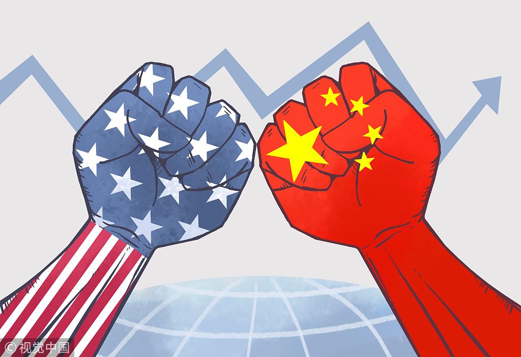 Chiến tranh mậu dịch giữa Hoa Kỳ và Trung Cộng. Nguồn internet.