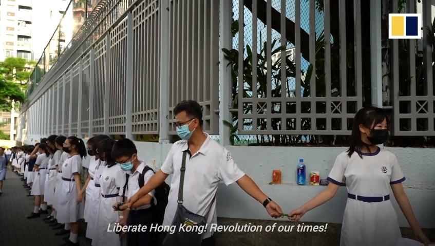 Tự Do Hong Kong! Cuộc cách mạng trong thế kỷ chúng ta! Nguồn SCMP.