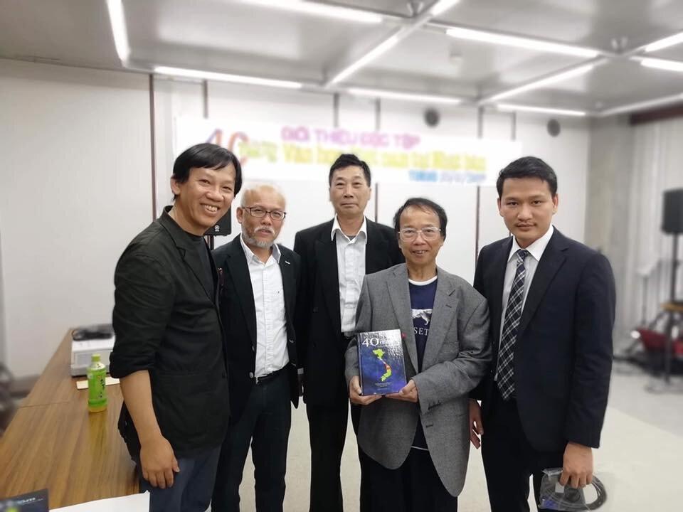 Ban Biên Tập - Đặc Tập 40 năm Văn Học Việt Nam tại Nhật Bản.