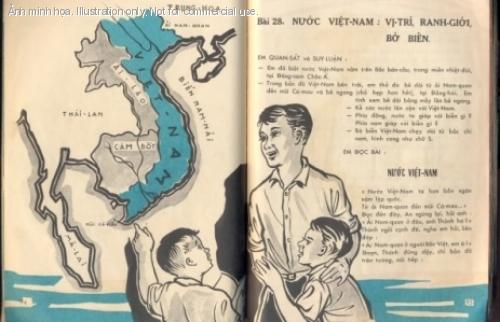 Sách giáo khoa thời VNCH. Nguồn internet.