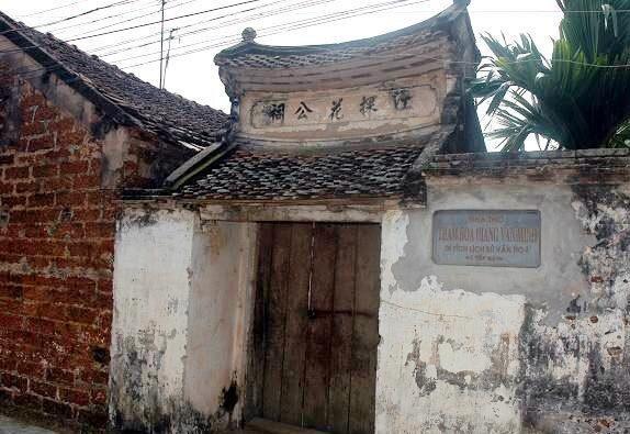 Ảnh: Đền thờ Giang Văn Minh. Nguồn internet.