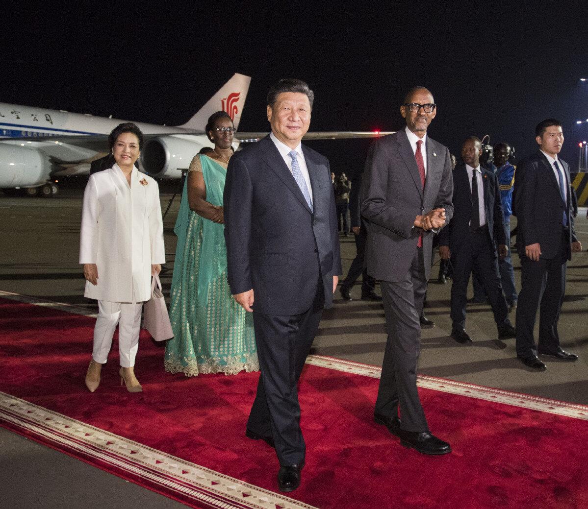 Tập Cận Bình thăm Ruanda