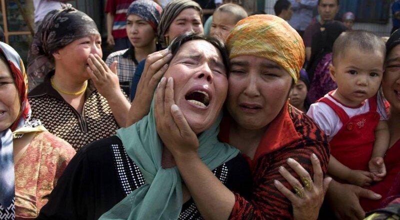 Nỗi đau diệt chủng tại Tân Cương.  Nguồn internet.