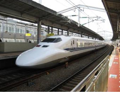 Hình 1: Xe lửa siêu tốc Shinkansen (ảnh TVT).
