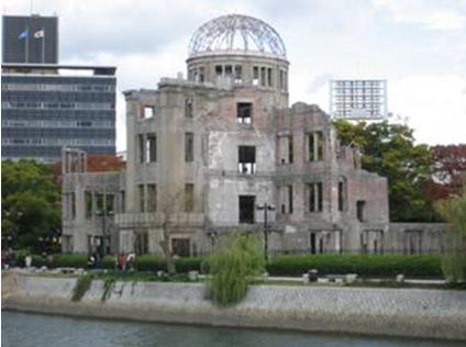 Hình 5: Tòa nhà bom nguyên tử -Di sản Thế giới (ảnh TVT).